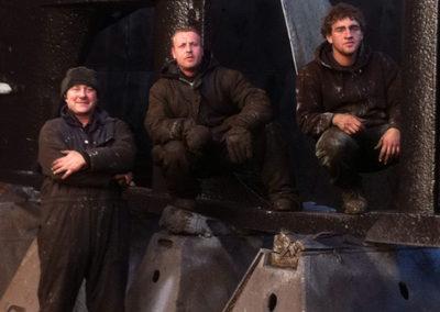 Drydock crew