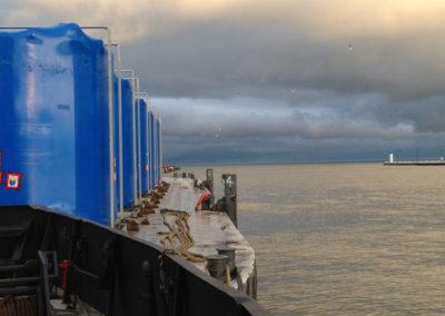 Project Cargo on Radium 604 barge