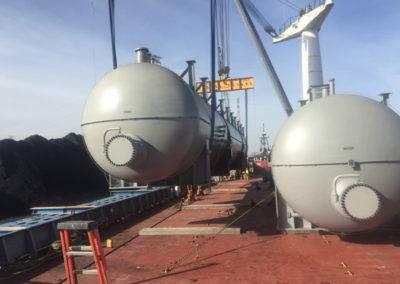 Project Cargo on the Coastal Titan