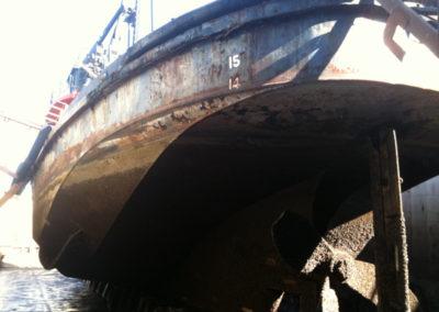 Salvage Monarch hull