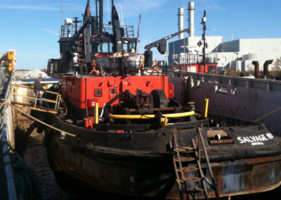 Salvage Monarch in drydock (1)